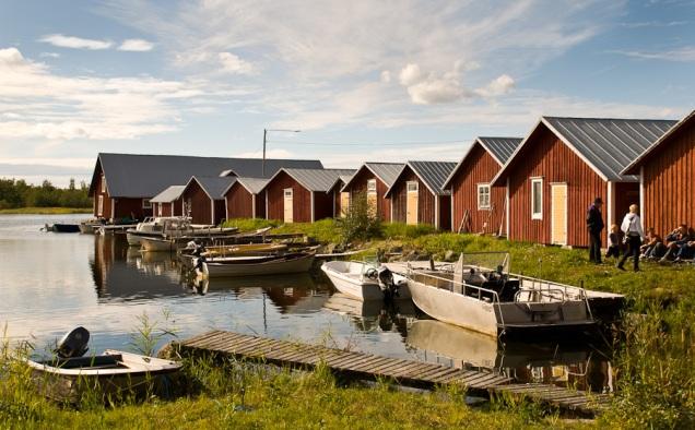 Båthusen i Svedjehamn